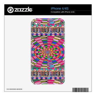 Chakra Mandala Circle Round Circular Colorful ART iPhone 4S Decals