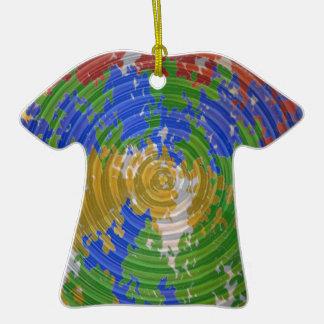 CHAKRA multicolor Energía de la rueda de la natur Ornamentos De Navidad