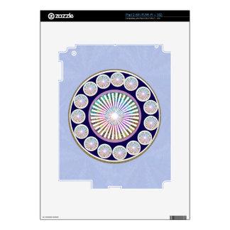 CHAKRA múltiples - Mandala viva de la chispa n Calcomanías Para iPad 2