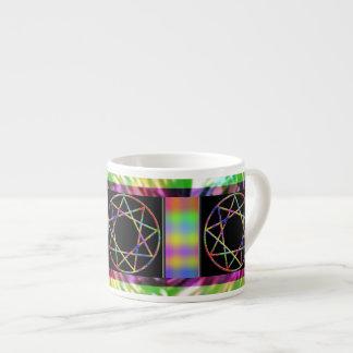 Chakra Nonagram Espresso Cup