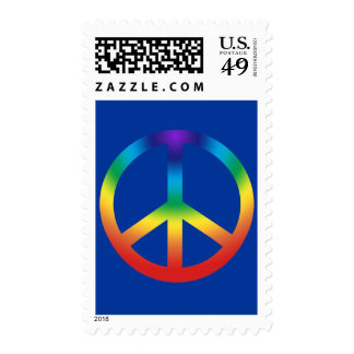 Chakra Peace Sign Stamp