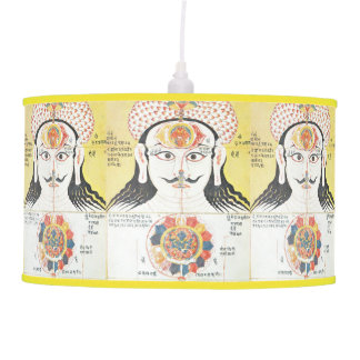 Chakra pendant lamp