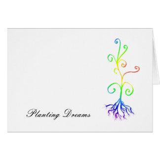 chakra plant, Planting Dreams Card