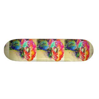 Chakra Poppy Skateboard Deck