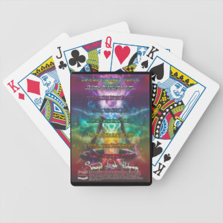 Chakra Poster Bicycle Playing Cards