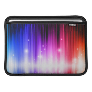 chakra,rainbow colors,sparkle,glitter,bokeh,faux, MacBook air sleeve