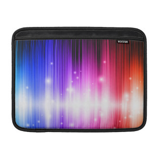 chakra,rainbow colors,sparkle,glitter,bokeh,faux, sleeves for MacBook air