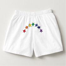 Chakra rainbow tumbling stars boxers