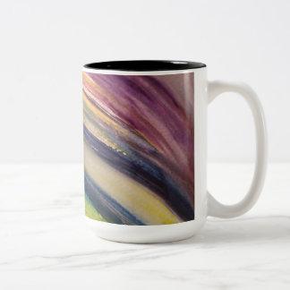 Chakra Rainbow Watercolor Mug