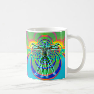 Chakra Rings Classic White Coffee Mug