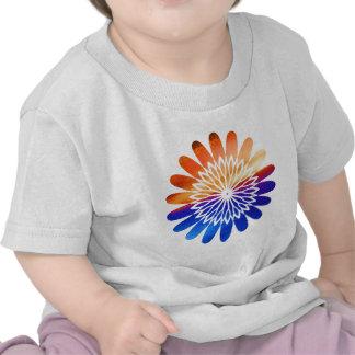 Chakra Round Graphic Flower Jewel Tees