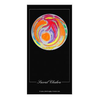 Chakra sacro tarjeta personal