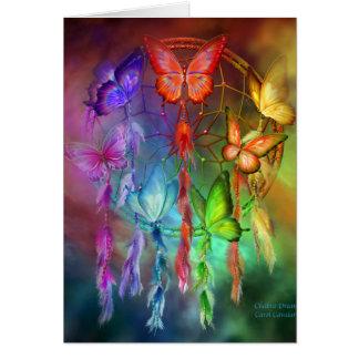 Chakra soña la tarjeta del arte