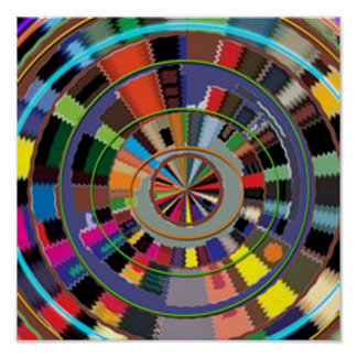 CHAKRA  style decorative Graphics by NAVIN Poster