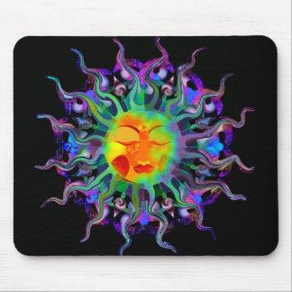 Chakra Sun Dark Mousepad