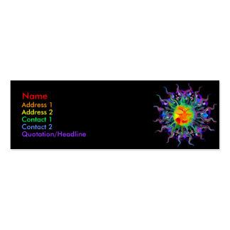 Chakra Sun Profile Cards Business Card Template