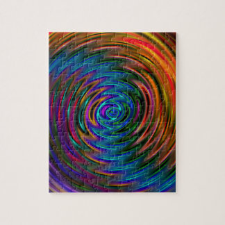 chakra swirl gift idea,original art jigsaw puzzle