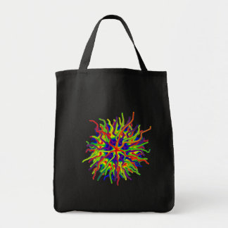 chakra tenticals grocery tote bag