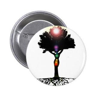Chakra Tree Button