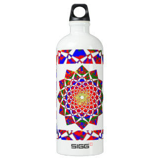 CHAKRA VIEW : Artistic Geometric Formation Aluminum Water Bottle