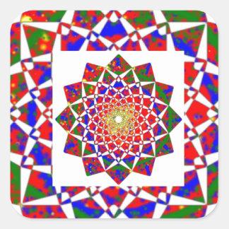 CHAKRA VIEW : Artistic Geometric Formation Sticker