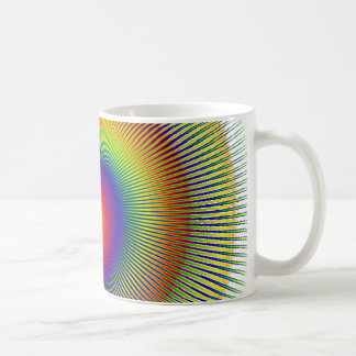 chakra Warp fractal Coffee Mug