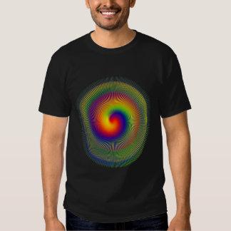 chakra Warp fractal vert apperal Tee Shirt