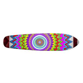 CHAKRA WAVE Look Print Surface Skateboard