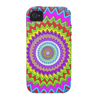 CHAKRA Wheel Illuminated Bright Colors Energy Heal iPhone 4 Cover