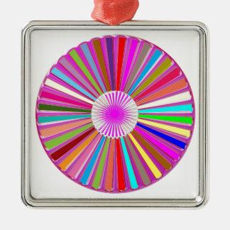 CHAKRA Wheel Round Colorful Healing Goodluck Decor Ornament