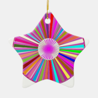 CHAKRA Wheel Round Colorful Healing Goodluck Decor Christmas Ornament