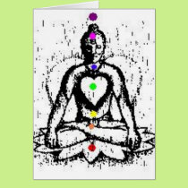 chakra yoga card