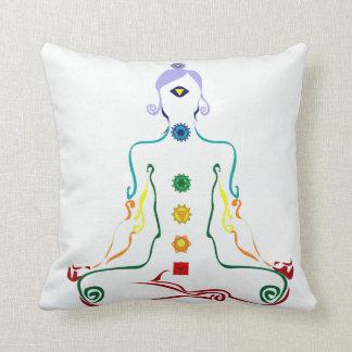 Chakra yogini pillow