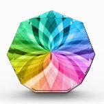 chakra zen kaleidoskop colorful fun acrylic award