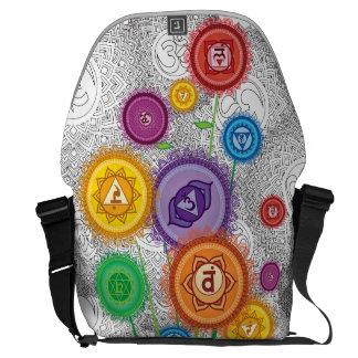 ChakraFlowerPower MessengerBag Messenger Bag