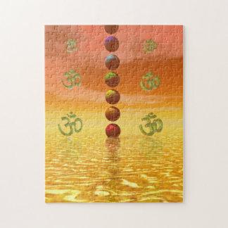 chakras anaranjados puzzle