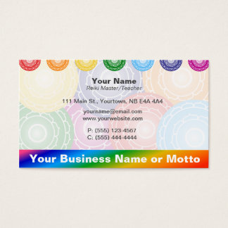 Chakras Business Card