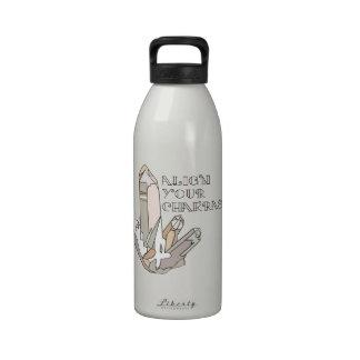 Chakras Reusable Water Bottles