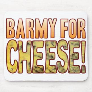 Chalado para el queso verde alfombrilla de ratones