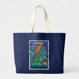 Chalchiuhtlicue Large Tote Bag