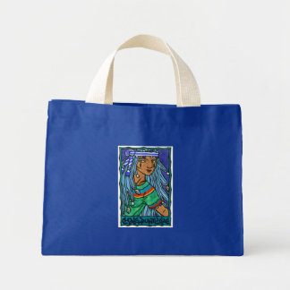 Chalchiuhtlicue Mini Tote Bag
