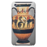 Chalcidian black figure amphora depicting a sphinx iPod touch cover