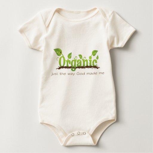 Chaleco cristiano orgánico del bebé - orgánico body de bebé