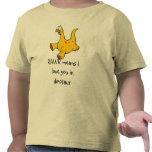 Chaleco del bebé: Dinosaurio divertido Camisetas