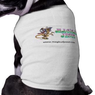 Chaleco del perrito playera sin mangas para perro