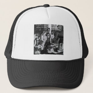 Chales Goodyear Sow & Reap Wisdom Quote Trucker Hat