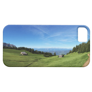Chalet and pastures in South Tyrol iPhone 5 Cover