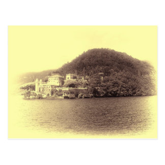 Chalet Balbianello de Como del lago Postal