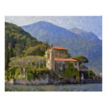Chalet Balbianello, poster de Como del lago