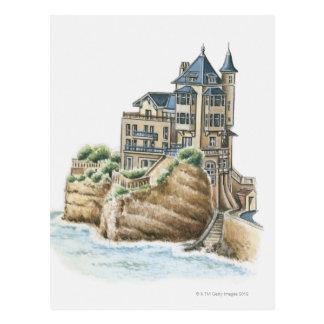 Chalet Belza, Biarritz, Francia Tarjetas Postales